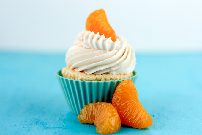 Dreamsicle Cupcakes